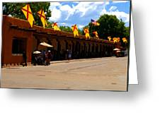 Palace Of The Governors Greeting Card