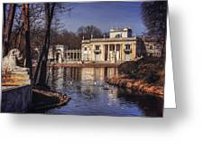 Palace On The Water  Greeting Card
