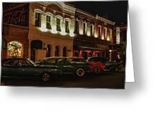 Palace Saloon Parking  Greeting Card