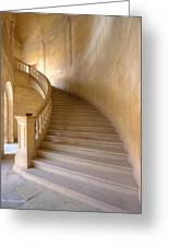 Palace Staircase Greeting Card