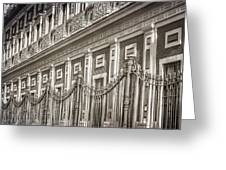 Palacio De San Telmo Facade Greeting Card