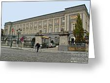 Palais Des Academies Greeting Card