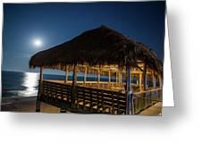 Palapa Paradise Greeting Card