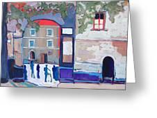 Palazzo Di Villafranca Greeting Card