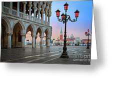 Palazzo Ducale Greeting Card