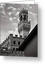 Palazzo Vecchio Tower Greeting Card
