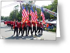 Palenville Fire Department 3 Greeting Card