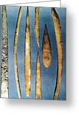Paleolithic Spears Greeting Card