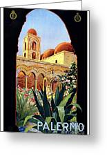 Palermo Italy Greeting Card