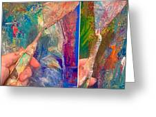 Palette Knife Greeting Card