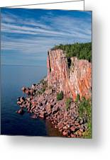 Palisade Head Greeting Card