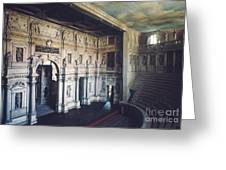 Palladio: Teatro Olimpico Greeting Card