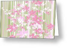Palm Beach Floral II Greeting Card