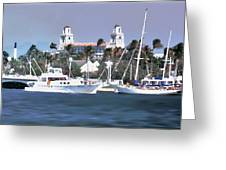 Palm Beach Middel Bridge Greeting Card