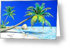 Palm Beach Number Five Greeting Card
