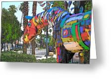Palm Desert Coda Greeting Card