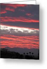 Palm Desert Sunset Greeting Card