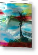 Palm Impressions Greeting Card