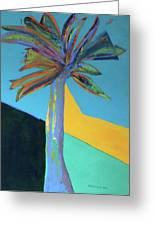 Palm In September, 2016. 24x18, Acrlyic On Canvas. Greeting Card
