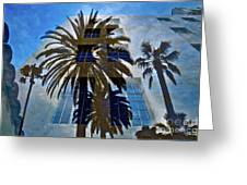 Palm Mural Greeting Card