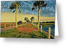 Palm Parkway Greeting Card