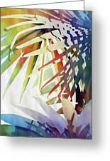 Palm Patterns 2 Greeting Card
