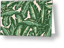 Palm Print Greeting Card