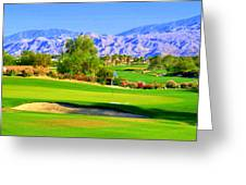 Palm Springs Golf Greeting Card