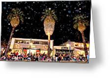 Palm Springs Holiday Parade 2015 Greeting Card