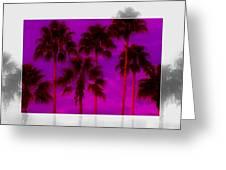 Palm Tree Heaven Greeting Card