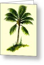 Palm Tree Number 1 Greeting Card