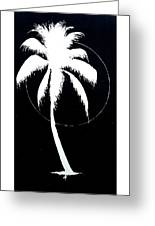 Palm Tree Number 8 Greeting Card