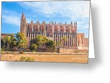 Palma Cathedral D40180 Greeting Card