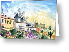 Palma De Mallorca Panoramic 03 Greeting Card