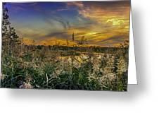 Palmer River At Sunset Greeting Card