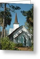 Palmetto Bluff Chapel Greeting Card