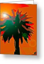 Palms 5 Greeting Card