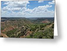 Palo Duro Greeting Card