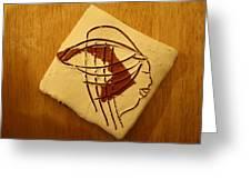 Paloma - Tile Greeting Card