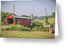 Palos Covered Bridge Greeting Card