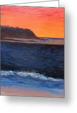Palos Verdes Sunset Greeting Card