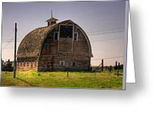 Palouse Barn Greeting Card