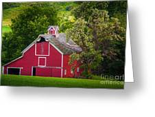Palouse Barn Number 9 Greeting Card