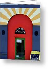 Palouse Door Greeting Card
