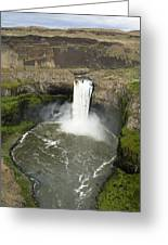 Palouse Falls State Park Greeting Card