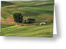 Palouse Farm 1 Greeting Card