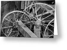 Palouse Farm Wheels 3156 Greeting Card