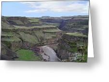 Palouse River Canyon Greeting Card