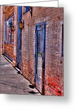 Palouse Wall Greeting Card by David Patterson
