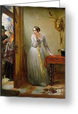 Palpitation Greeting Card by Charles West Cope